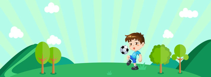 simple games kick the ball football, Poster, Child, Banner Background image