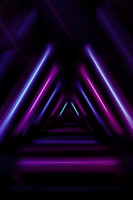simple illuminated lines neon stereoscopic , Geometric, Poster, Sense Of Space Background image