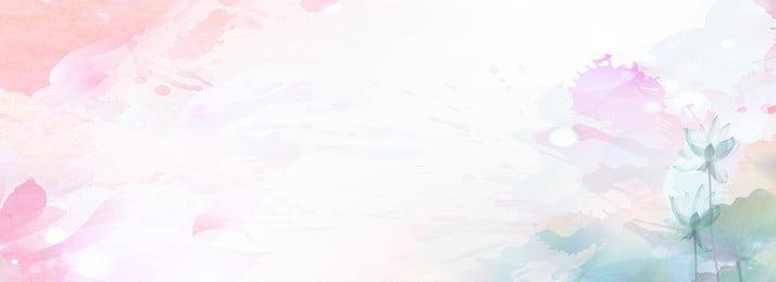 清新簡約渲染唯美花朵背景 簡約 文藝 花朵 淡雅 溫馨 渲染 色彩 唯美 宣傳背景, 簡約, 文藝, 花朵 背景圖片