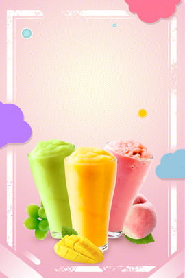 simple summer fruit ice cream , Ice Cream, Propaganda, Poster Background image