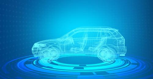 dòng công nghệ xe thông minh xe thông minh lái, Xe, Nghệ, Màu Ảnh nền