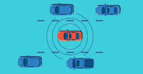 बुद्धिमान कार स्वचालित ड्राइविंग दृश्य स्मार्ट कार स्वचालित ड्राइविंग स्थल इंटरनेट नीला पृष्ठभूमि सेवा प्रौद्योगिकी, ऊर्जा, पता, ड्राइविंग पृष्ठभूमि छवि