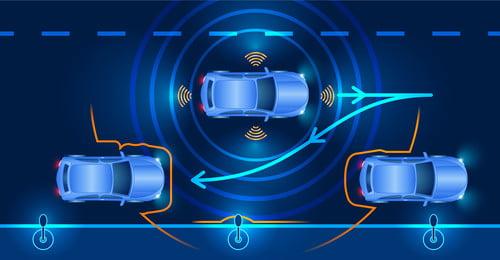 बुद्धिमान कार स्वचालित ड्राइविंग दृश्य स्मार्ट कार स्वचालित ड्राइविंग स्थल इंटरनेट नीला पृष्ठभूमि सेवा प्रौद्योगिकी, स्मार्ट, ऊर्जा, पता पृष्ठभूमि छवि