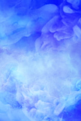 smoke rendering beautiful dark blue gradient , Poster, Colored Smoke, Romantic Background image