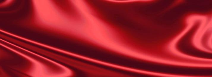 빨간색 실크 보석 배경 부드럽게 새틴 아름다운 접기 럭셔리 쥬얼리 쥬얼리 빨간색, 빨간색 실크 보석 배경, 부드럽게, 새틴 배경 이미지