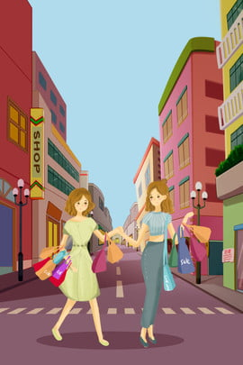 snatch the mall street skin care products , Clothing, Woman, Illustrator Style Background image