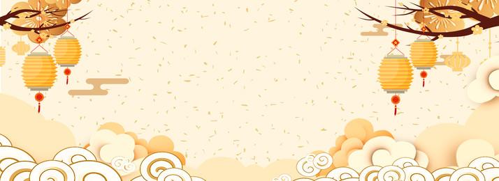 tết xuân vàng xiangyun, đèn Lồng, 2019, Poster Năm Mới Của Trung Quốc Ảnh nền
