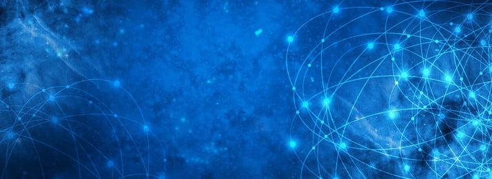 bầu trời đầy sao công nghệ kinh doanh màu xanh, Chói, Sáng Tạo, đơn Giản Ảnh nền