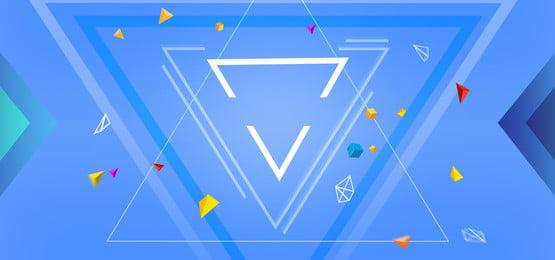 Mùa hè tam giác hình học poster nền Mùa hè Tam giác Hình Hình Dây Đường Hình Nền