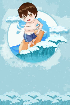 surfing spray sea water travel poster summer fresh hawaii travel poster seaside beach tourism , Beach, Surf, Swim Background image