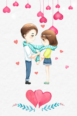 tanabata valentines day couple love , Lace, Shading, Texture Background image