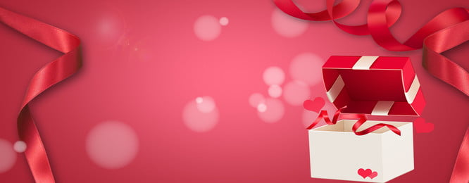 中国のバレンタインデーのギフトボックスの赤いバナーの背景 七夕 バレンタインデー ギフト用の箱 赤 バナー バックグラウンド 赤の背景 七夕の背景 中国のバレンタインデーのギフトボックスの赤いバナーの背景 七夕 バレンタインデー 背景画像