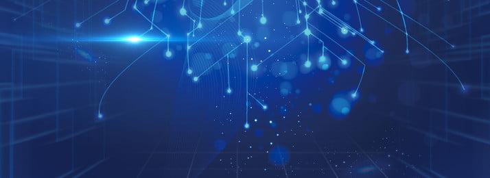 創意科技背景合成 科技 藍色 商務 科技線條 幾何 創意 簡約 合成 炫光, 科技, 藍色, 商務 背景圖片