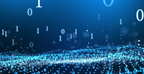 Технология Cool частиц фона эффект света сцены данных Наука и технологии прохлада частица фон Световой Технология Cool частиц Фоновое изображение