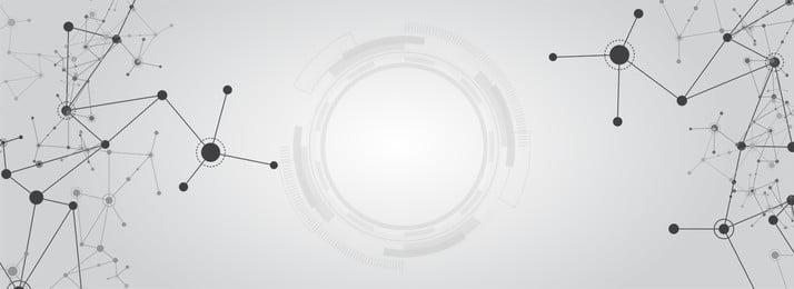 기술 점선 회색 포스터 기술 데이터 선 점선 단순한 블랙 회색 반지, 기술, 데이터, 선 배경 이미지
