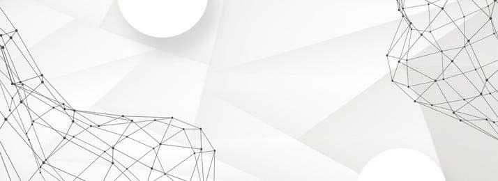 Áp phích hình học màu đen và trắng tech point line công nghệ dữ liệu Đường, Dây, Đường, Liệu Ảnh nền