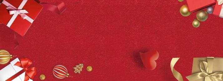 День благодарения красное золото подарочной коробке баннер плакат благодарение скидка красный Золотая подарочная коробка любовь благодарение скидка красный Фоновое изображение