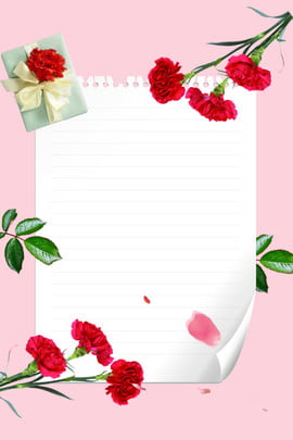 Thanksgiving Pink Background Flowers Greeting Card, Ribbon, Petal, Thanksgiving Background, Background image
