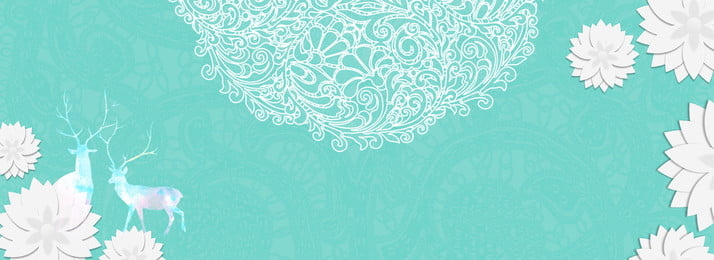 tiffany advanced blue art romantik paper cut lace shading background tiffany blue tudung renda bunga, Kertas, Biru, Potong imej latar belakang