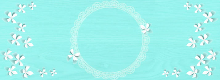 tiffany blue solid color flower 3d background, 3d, Lace, Flower Background image