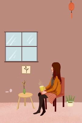 hai mươi bốn thuật ngữ năng lượng mặt trời nhà cô gái lạnh cô gái minh họa poster hai mươi bốn , áp, Phong, Vật Ảnh nền
