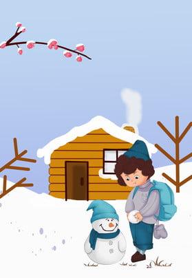 hai mươi bốn thuật ngữ năng lượng mặt trời cô gái tuyết người tuyết cảnh poster hai mươi bốn , Trời, Cảnh, Phích Ảnh nền