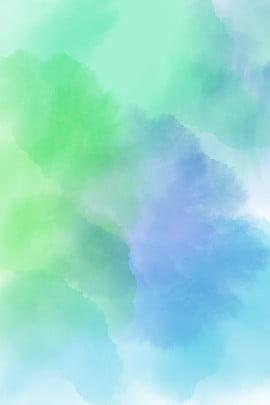 수채화 스머지 그라데이션 배경 수채화 피 수채화 그라디언트 신선한 초록 수채화 , 물감, 꽃, 기울기 배경 이미지