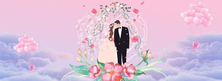 結婚式の招待状の背景イラスト 結婚式の招待状 クリエイティブ合成 結婚式のシーン 美しい ロマンチックな 背が高い 中国の結婚式 ゲスト 新郎新婦 シンプルな雰囲気 中国, 結婚式の招待状, クリエイティブ合成, 結婚式のシーン 背景画像