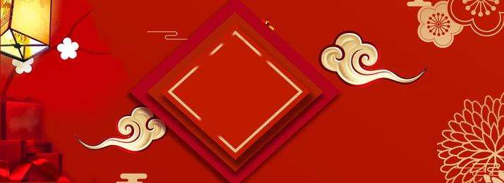 Свадебный красный фон в китайском стиле свадьба Красный фон Китайский стиль Плакатный фон Китайский стиль Фоновое изображение