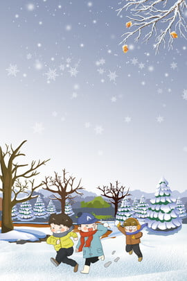 winter camp child snowball fight snowflake , Snowy Day, Play, Boy Background image
