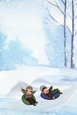 趣味冬令營分層banner 冬令營 趣味冬令營 招募 玩耍 滑雪 冬天 雪花 旅遊 創意合成 , 趣味冬令營分層banner, 冬令營, 趣味冬令營 背景圖片