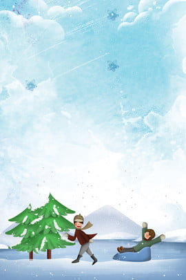 冬令營滑雪分層banner 冬令營 雪地 趣味冬令營 招募 玩耍 滑雪 雪花 旅遊 創意合成 , 冬令營滑雪分層banner, 冬令營, 雪地 背景圖片