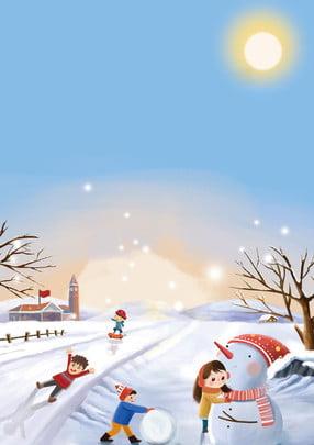विंटर कैंप स्नोफॉल विज्ञापन पोस्टर शीतकालीन शिविर विंटर कैंप , कैंप, का, शिविर पृष्ठभूमि छवि