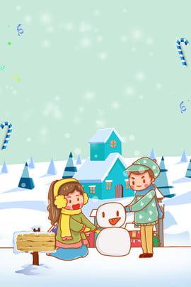 Kỳ nghỉ mùa đông trại áp phích nền Kỳ nghỉ đông Trại Kỳ Bóng đông Hình Nền