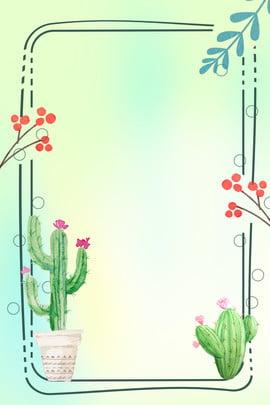 黄緑色のグラデーションサボテンの植物の背景 イエロー グリーン グラデーション サボテン 植物の背景 花 ブレード 国境 レース , イエロー, グリーン, グラデーション 背景画像