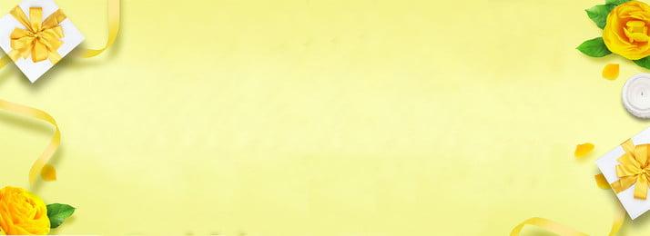 Желтый минималистичный фон благодарения BANNER желтый простой благодарение фон ЗНАМЯ благодарение лента Роза желтый простой благодарение Фоновое изображение