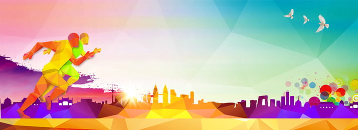 Youth Geometric Gradient Architectural Silhouette Inspirational, Character Silhouette, Color, City Silhouette, Background image