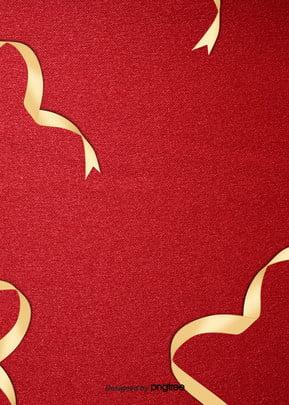 golden ribbon background design , Ribbon, Simples, Vermelho Imagem de fundo