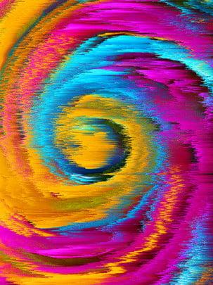3d色彩旋渦廣告背景 , 3d, 旋轉, 絢麗 背景圖片