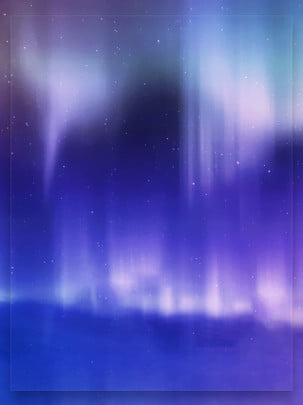 abstract fantasy purple aurora starry sky background , Aurora, Abstract, Blurry Background image