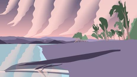 Август привет Приморский искусство иллюстрации фона иллюстрация Литература и Фоновое изображение