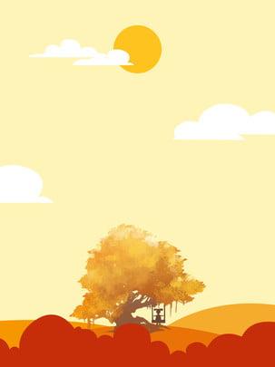 autumn equinox deciduous trees sun swing orange , Autumnal, Day And Night Average, Fallen Leaves Background image