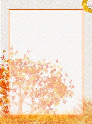Mùa thu lá phong vàng héo Mùa Thu Vàng Hình Nền