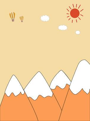 शरद पर्वत और परी की पृष्ठभूमि , पड़ना, छुट्टी, मुख्य तस्वीर पृष्ठभूमि छवि