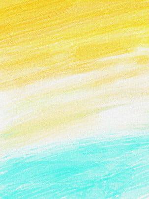 秋天黃色綠色紋理時尚簡約背景 , 秋天, 黃色, 綠色 背景圖片