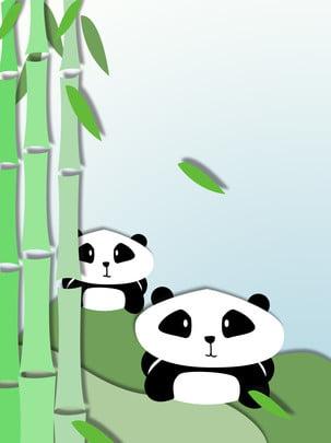 tre panda origami nền , Đơn Giản, Gấu Trúc, Origami Ảnh nền