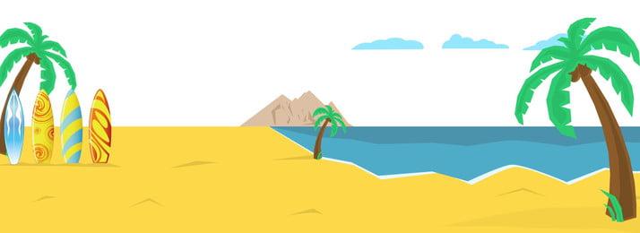 beach coco banner nền, Nền Trang Web, Cây Dừa, Bên Bờ Biển Ảnh nền