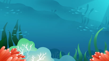 beautiful blue underwater world background map, Blue, Sea, Ocean Background image