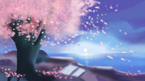 美しい桜の花びらの背景素材 美しい 花びら さくら 背景画像