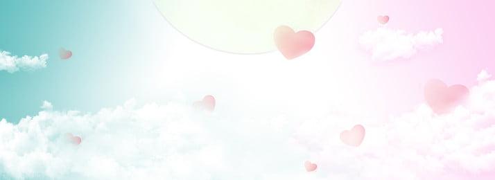 Tình yêu màu hồng trung thu poster chất liệu Đẹp Tình yêu Màu hồng Áp Tình Yêu Màu Hình Nền